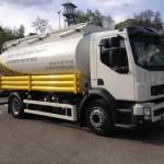 Camion Souffleur de livraison de granulés
